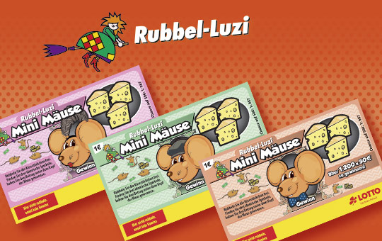 Rubbel-Luzi Mini Mäuse