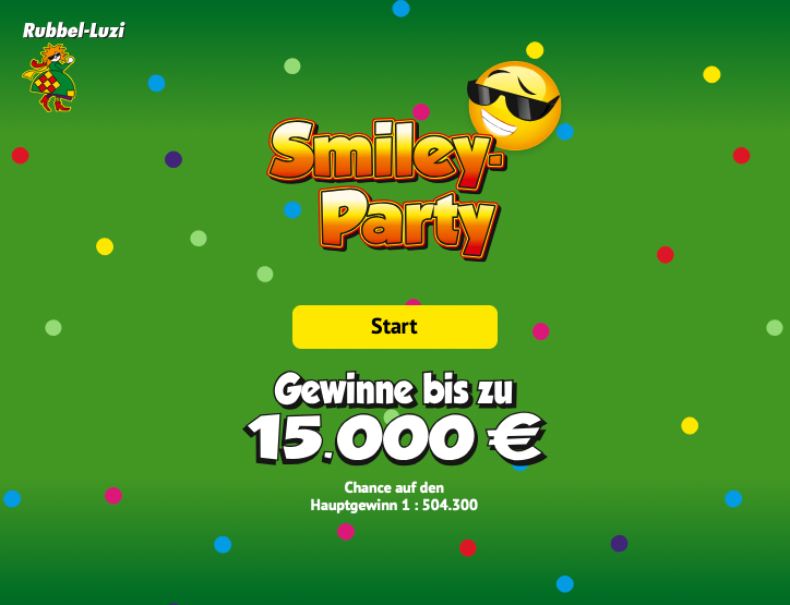Smiley-Party - Start